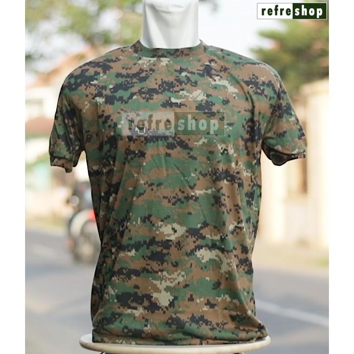 Kaos Tactical Army Nyaman Awet Berkualitas Cotton Ripstop Tebal Militer KTCCRSDD | Shopee Indonesia