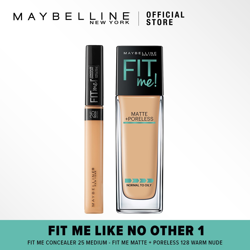 Maybelline Fit Me Concealer Sand Shopee Indonesia Medium