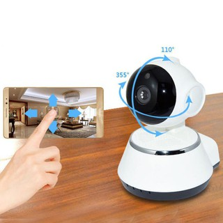 Wireless HD 720P IP Camera Home Security CCTV WiFi Camera Night Vision Baby | Shopee Indonesia