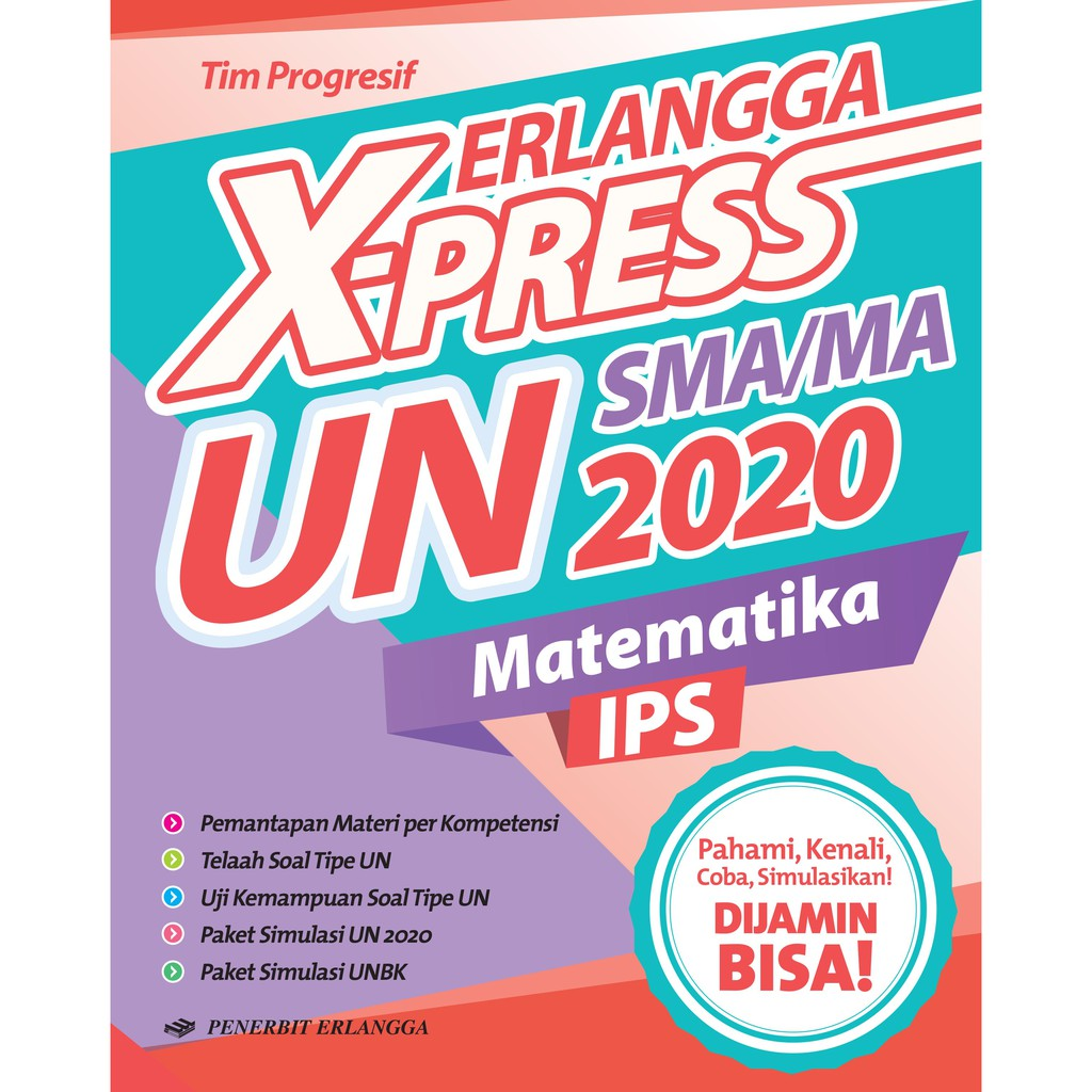 Erlangga X Press Un Sma Ma 2020 Matematika Ips Kunci Jawaban Shopee Indonesia