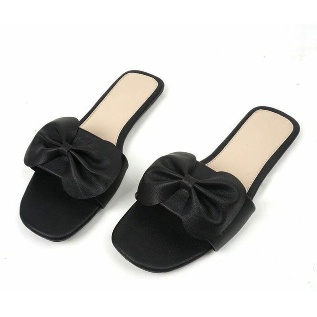 Mz sandal wanita flat slop kokop pita ...