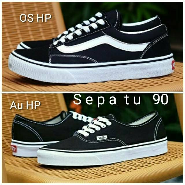 Sepatu Vans OldSkool Full Black Original PREMIUM Made In China Waffle  DT BNIB Import PREMIUM  bc7557721
