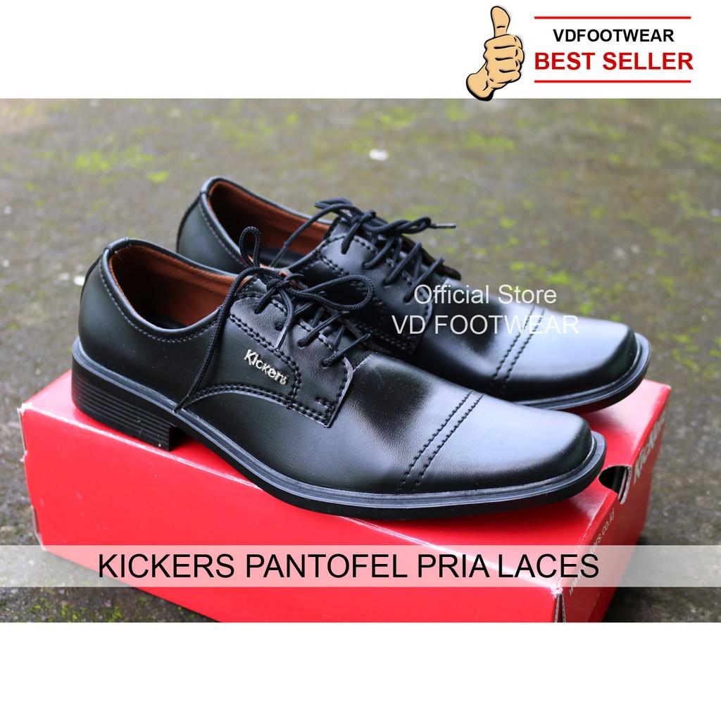 Sepatu casual slop formal kerja pria kickers slop  172e07f2b3