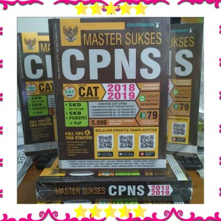 Buku Cpns Buku Tes Cpns Buku Soal Cpns Buku Cpns Cat Cpns 2019 Buku Master Sukses Cpns 2018