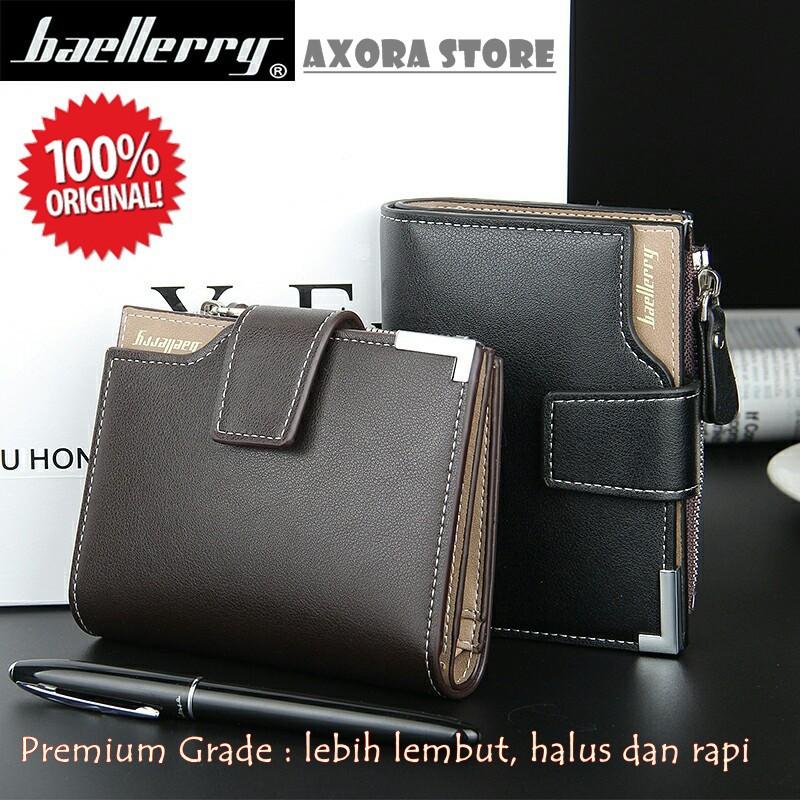 1282-Dompet PRIA BAELLERRY & Dompet PRIA FYGALERY Dompet Pria panjang Bonus Kotak | Shopee Indonesia