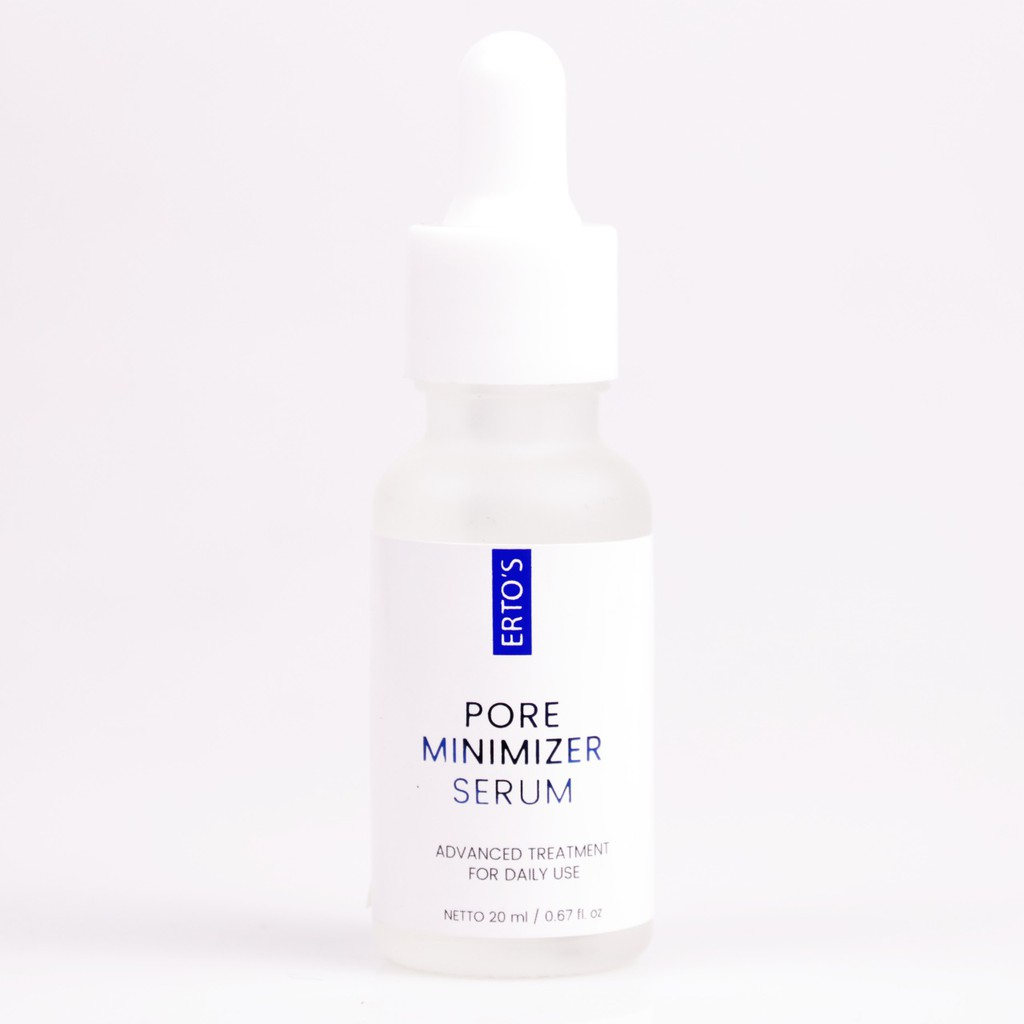 Erto S Pore Minimizer Serum Shopee Indonesia
