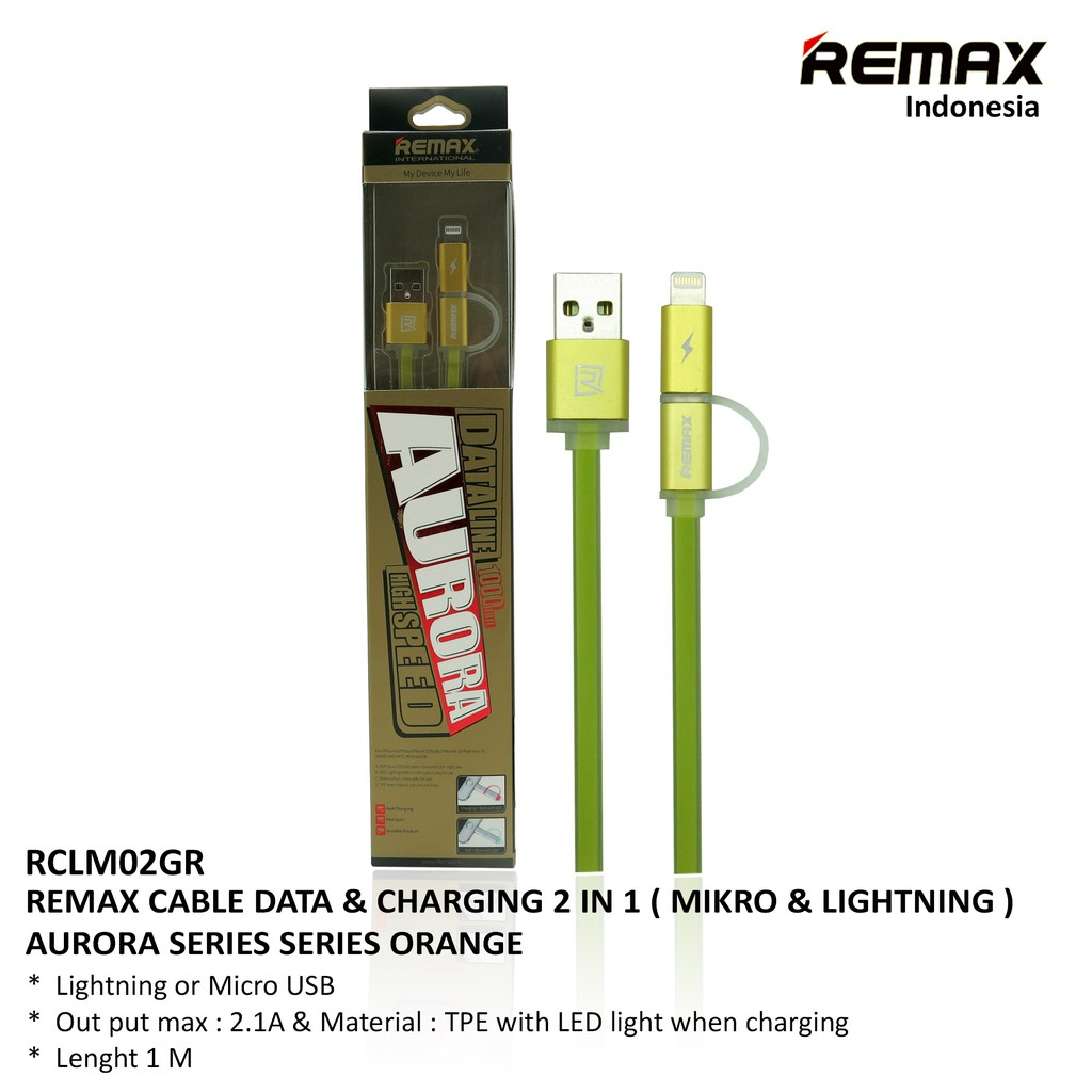 Remax Aurora High Speed Double Sided Micro Usb Lightning Rc 020t Cable Kabel Charge Data Lesu 3 In 1 066th Type C Original Shopee Indonesia
