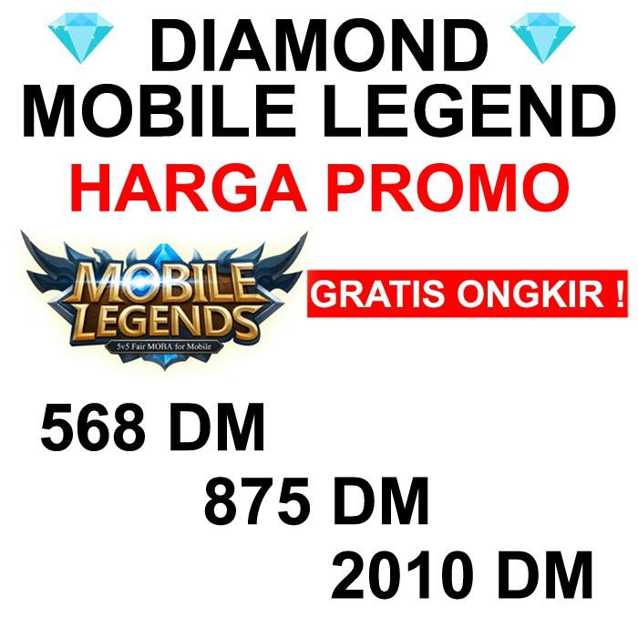 Ml Bb Top Up Diamond Mobile Legend 568 Dm 966 Dm 2010 Dm Via Codashop Shopee Indonesia