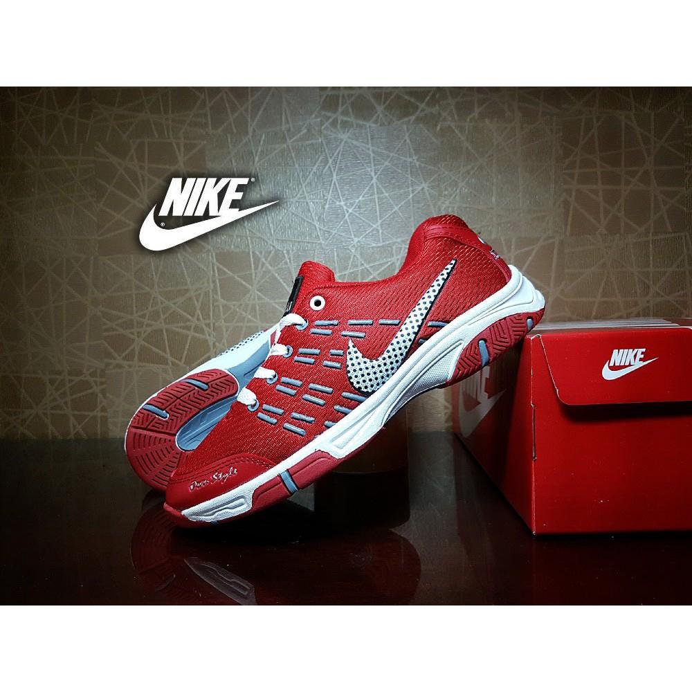 PROMO sepatu olahraga nike airmax badminton merah   casual pria sport  TERMURAH  c998355c96