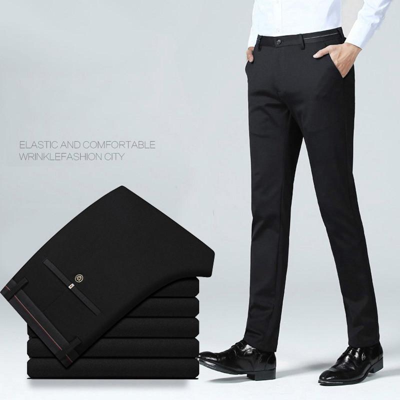 Celana Formal Pria Panjang Business Casual Straight Slimfit