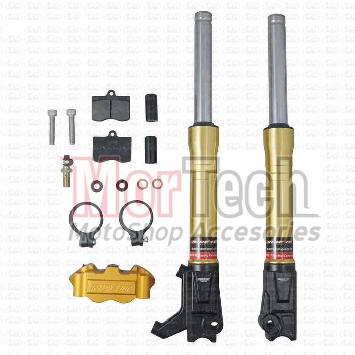 Bottom Sok – Shock Depan CNC Kaki Chrome FB Vega ZR 110 cc Gold | Shopee