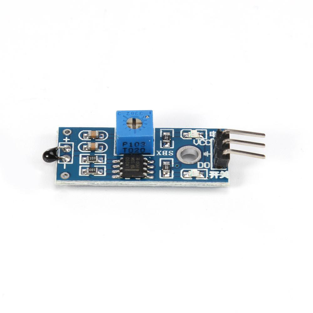 Digital Temperature LM393 3.3V-5V NTC Thermistor Sensor Modul Temperatursensor f/ür Arduino