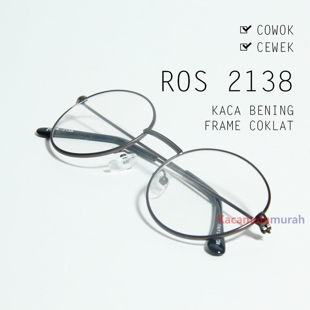 kacamata R13-172 kaca bening frame hitam  93f8e708f0