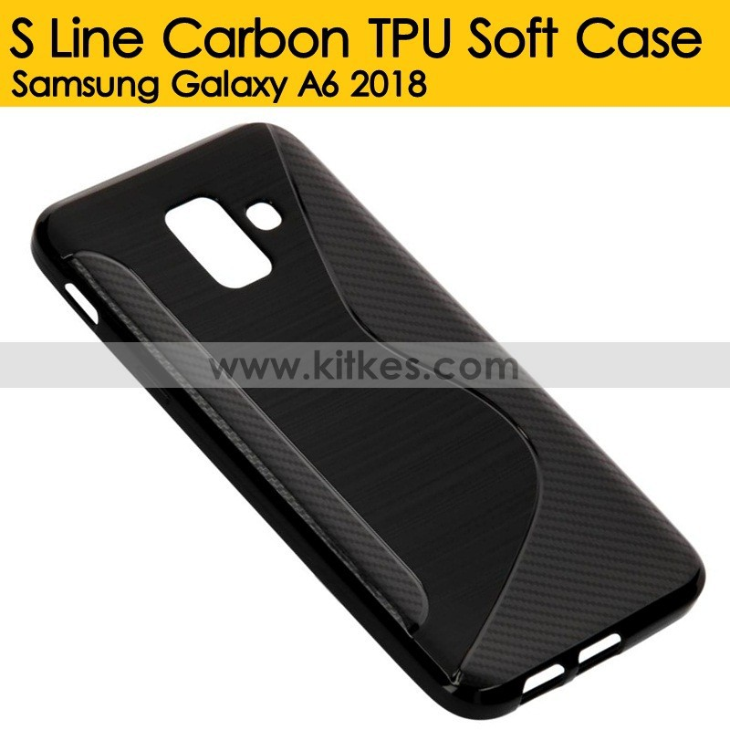Carbon TPU Soft Case Xiaomi Redmi Note 5 .