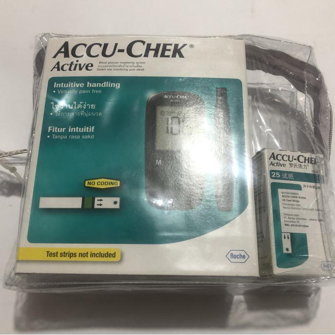 alat gula darah accu check