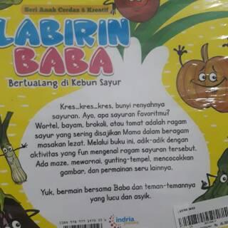 Labirin Baba Bertualang Di Kebun Sayur Shopee Indonesia
