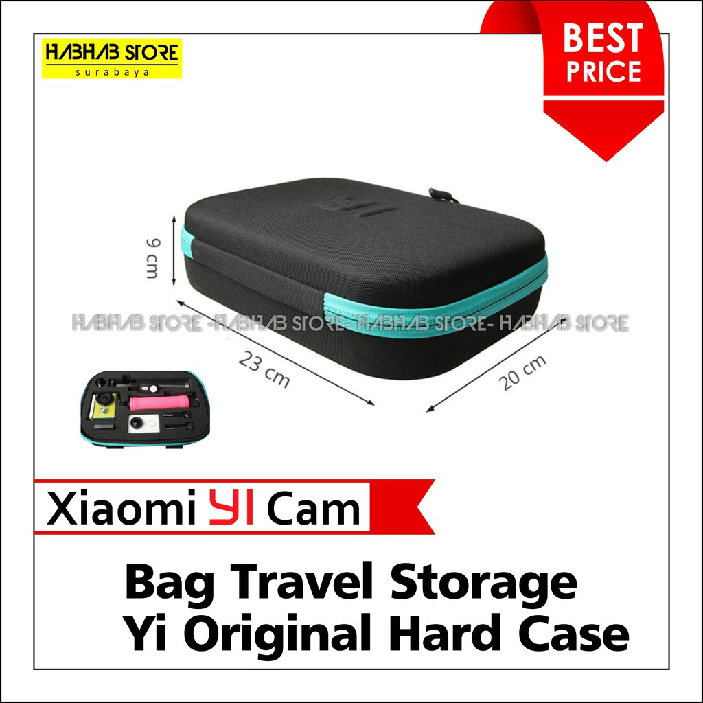Accessories Storage Collection Bag Box Cameras Protective Tas Case Size Small For Action Camera Gopro Xiaomi Yi Dll Shopee Indonesia