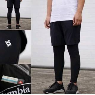 Celana Legging Trail Running Manset Kaki Columbia Original Shopee Indonesia