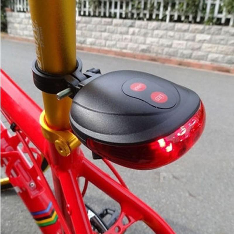 5 LED Lamp Light Rear Cycling Bicycle Bike Tail Safety Warning Flashing Lamp Red