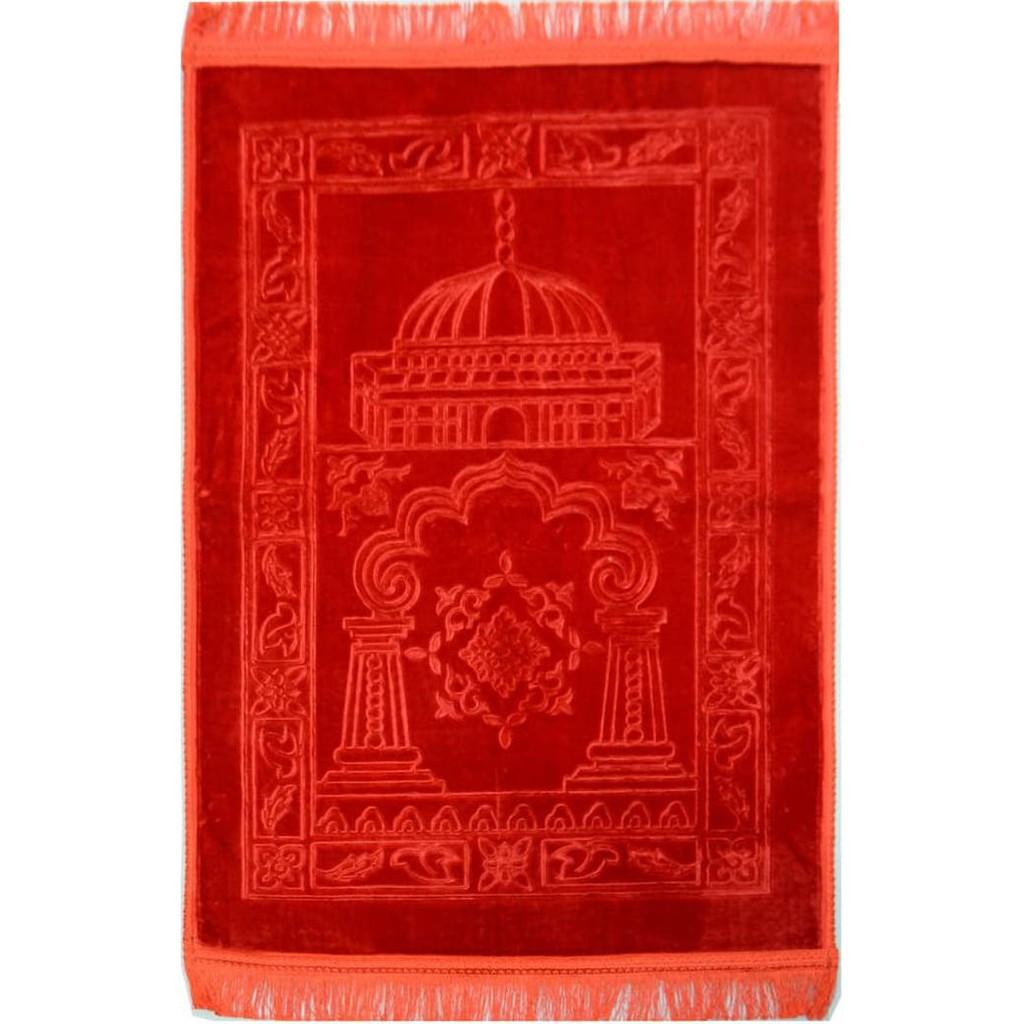Sajadah Aisyah Ukuran 80 X 120 Merah Marun Shopee Indonesia Karpet Rumah Marocco 100 150 Ungu 2301