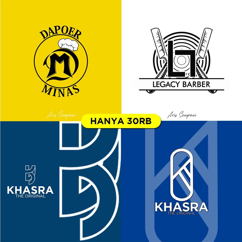 Jasa Desain Logo Inisial Logo Olshop Logo Makanan Logo Perusahaan Logo Keren Shopee Indonesia