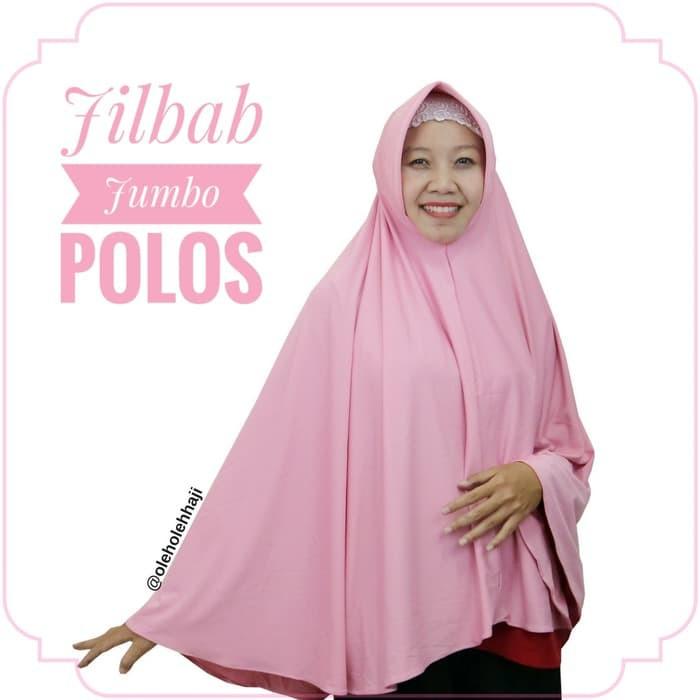 Jilbab Hijab Khimar Bergo Jumbo Syar I Souvenir Oleh Oleh Haji Umroh Shopee Indonesia