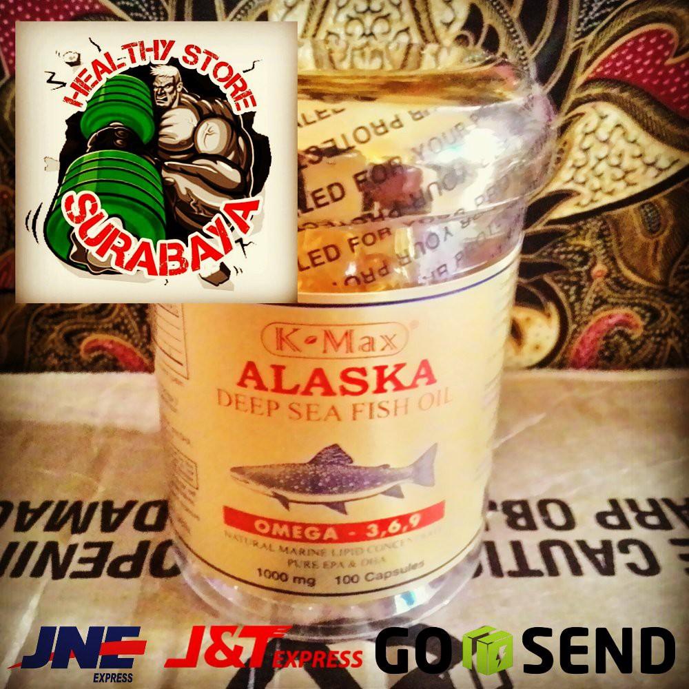 Deep Sea Minyak Ikan Salmon Alaska Sunhope Shopee Indonesia Lautan Dalam K Max Omega 3 6 9