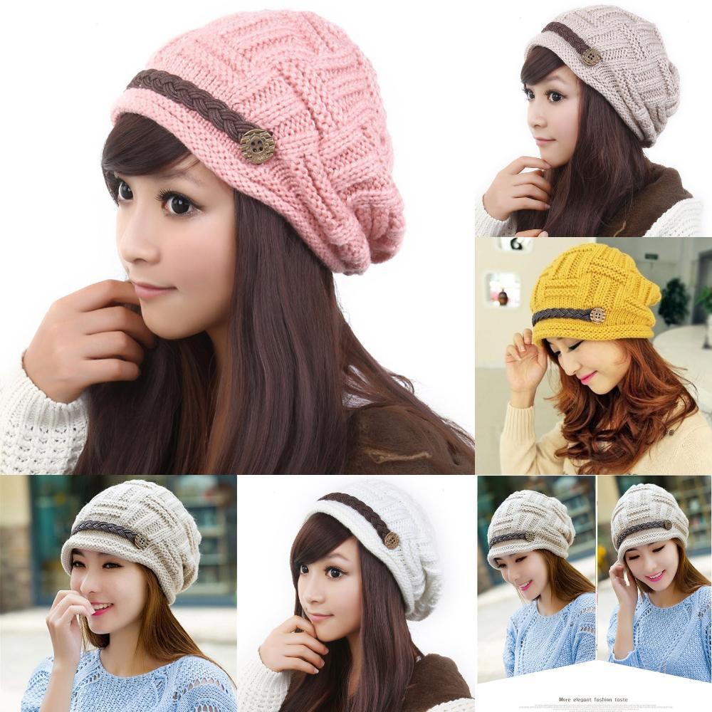 Aksesoris Fashion Pria  Topi Kupluk Skullies Bonnet Model Rajut ... bcab548774