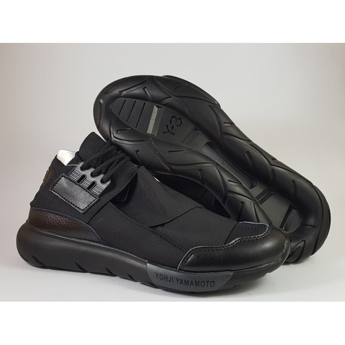New Item ADIDAS Y3 Yohji Yamamoto Casa High Black Premium Original Sepatu Shoes