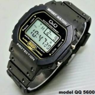 Jam tangan pria digital qq qnq q q anti air gls 5600 jam sporty fashion pria  termurah 6826b336eb