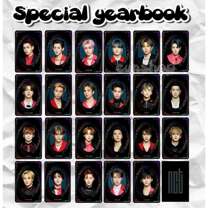 SYB SPESIAL YEARBOOK NCT