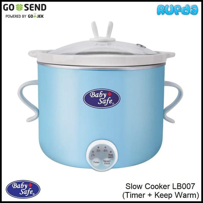 Baby Safe Slow Cooker LB007 dengan Timer dan Keep Warm | Shopee Indonesia