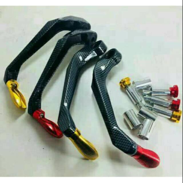 Proguard Handguard Carbon Motor Pro Guard Hand Guard Karbon Motor Universal Semua Motor Proguard Shopee Indonesia