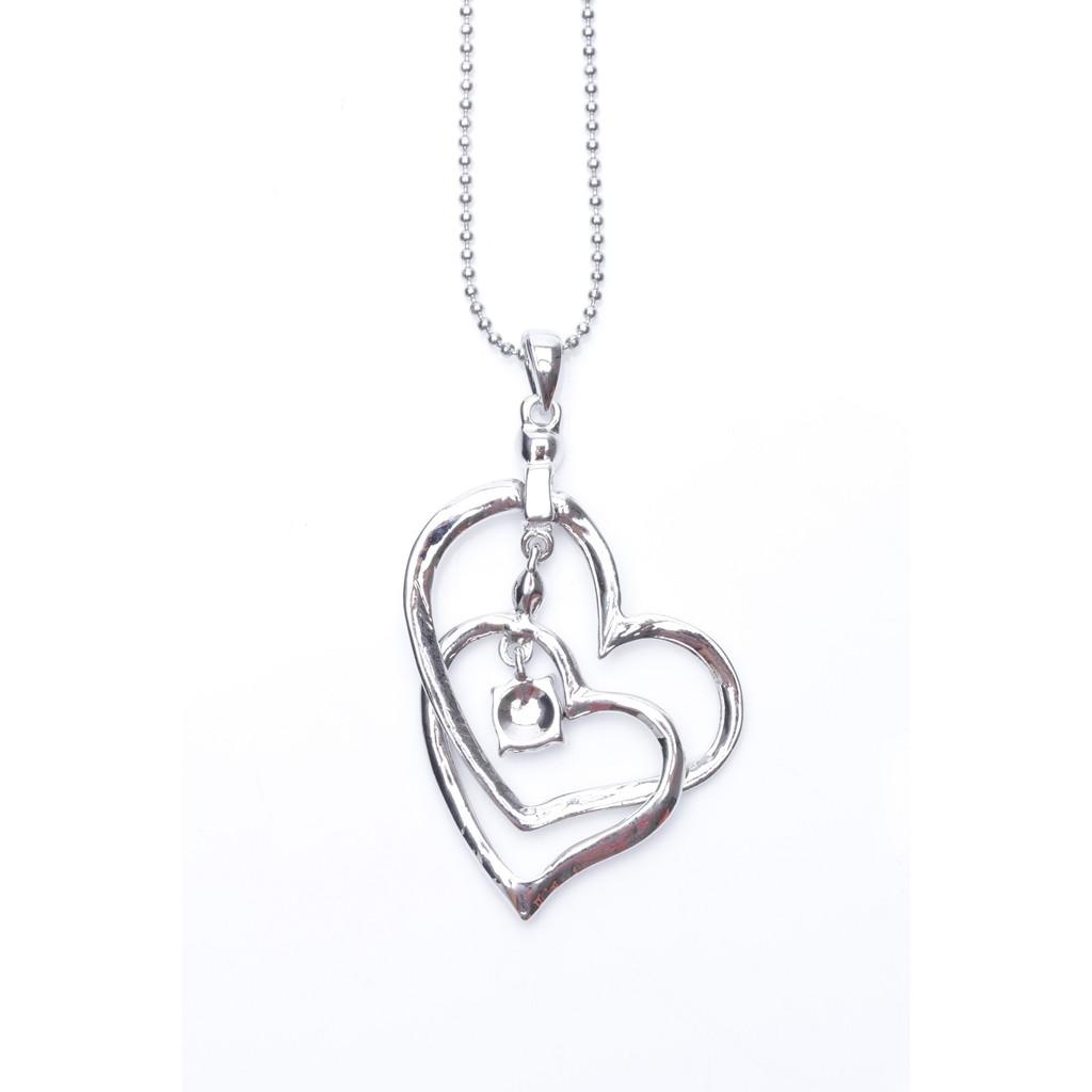 Eyo Jewelry Kalung Wanita SNS 9604 Silver .
