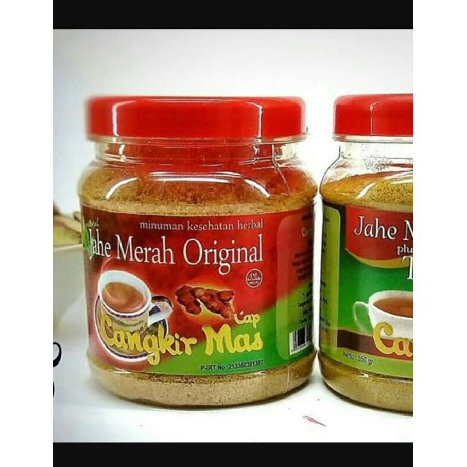 Jahe Merah Cap Cangkir Mas Original Toples agen grosir distributor termurah | Shopee Indonesia