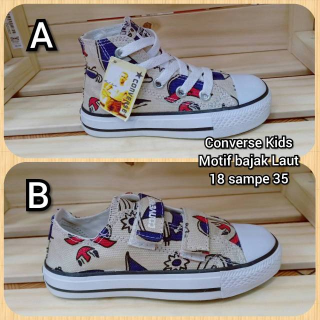 Sepatu anak converse motif bendera amerika sepatu gaya sepatu main sepatu  sekolah 18-35  a85e948bb5