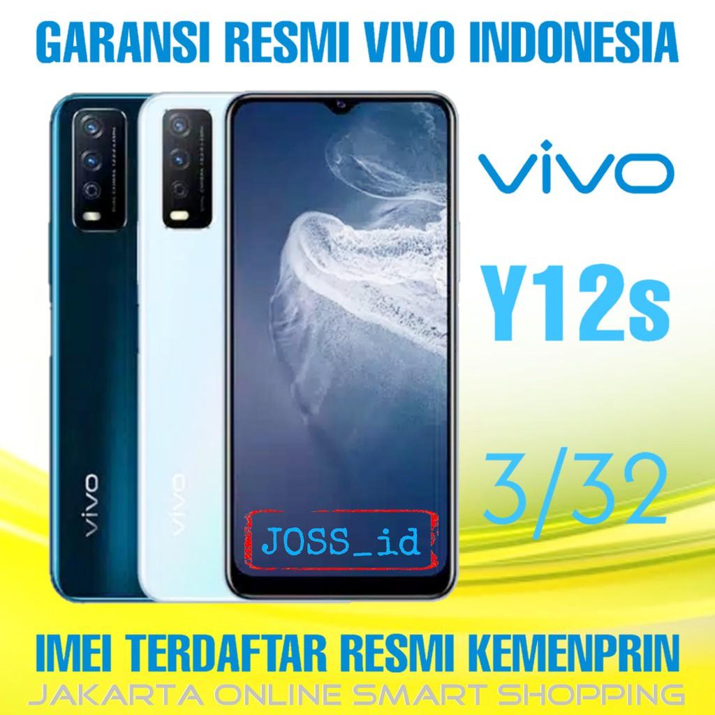 VIVO Y12s 3/32 - GARANSI RESMI - HP VIVO Y12s RAM 3GB - HP ANDROID 4G - VIVO Y12 s - HP VIVO MURAH