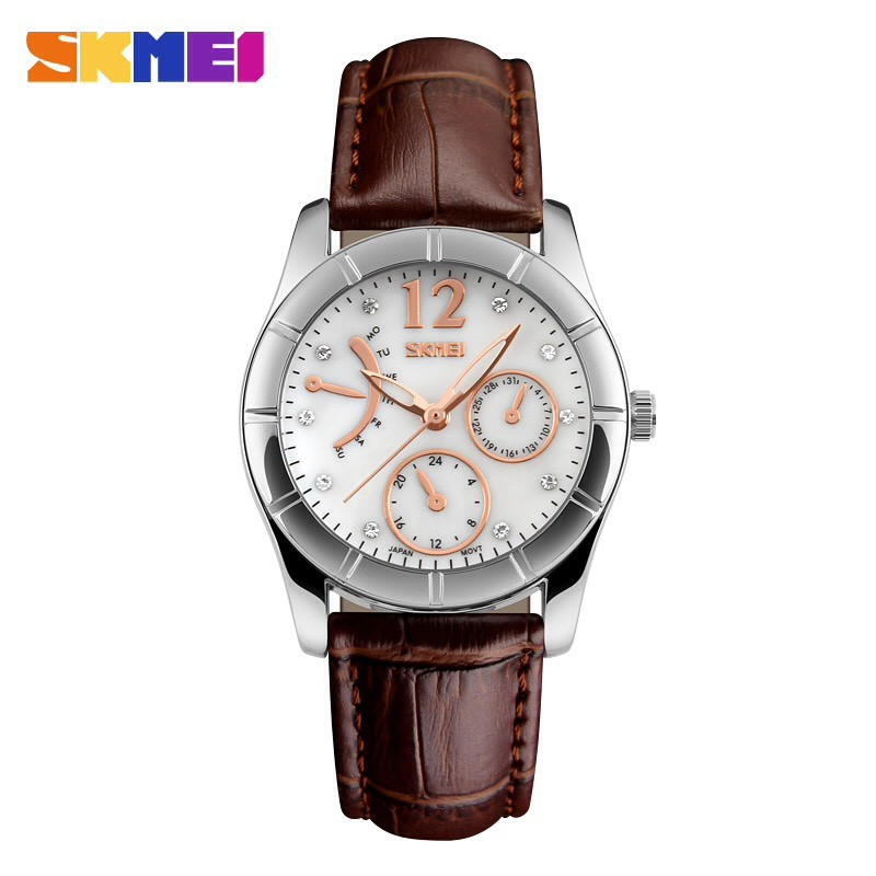 Jam Tangan Fashion Wanita SKMEI Diamond Biru Original Impor Murah Tahan Air 3 ATM | Shopee Indonesia