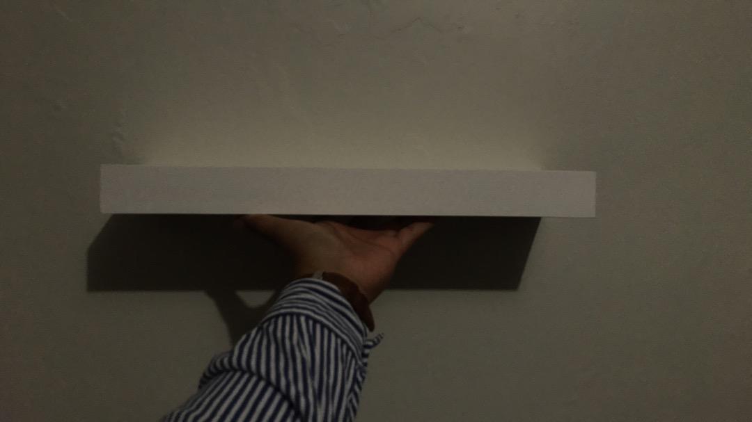 Set Rak Ambalan Dinding Minimalis 2 Pcs Uk 40 40 cm i