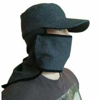 Topi Jepang Masker Samping I Topi petani I Topi Mancing I Topi ... 49cf027ef5