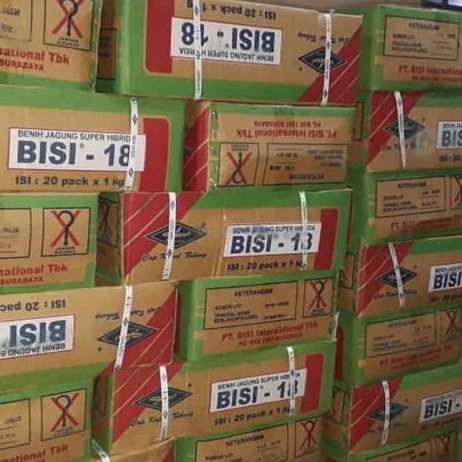 Benih jagung hibrida Bisi 18 isi 1kg jagung bisi18 bibit jagung bisi 18 (KODE 7709)
