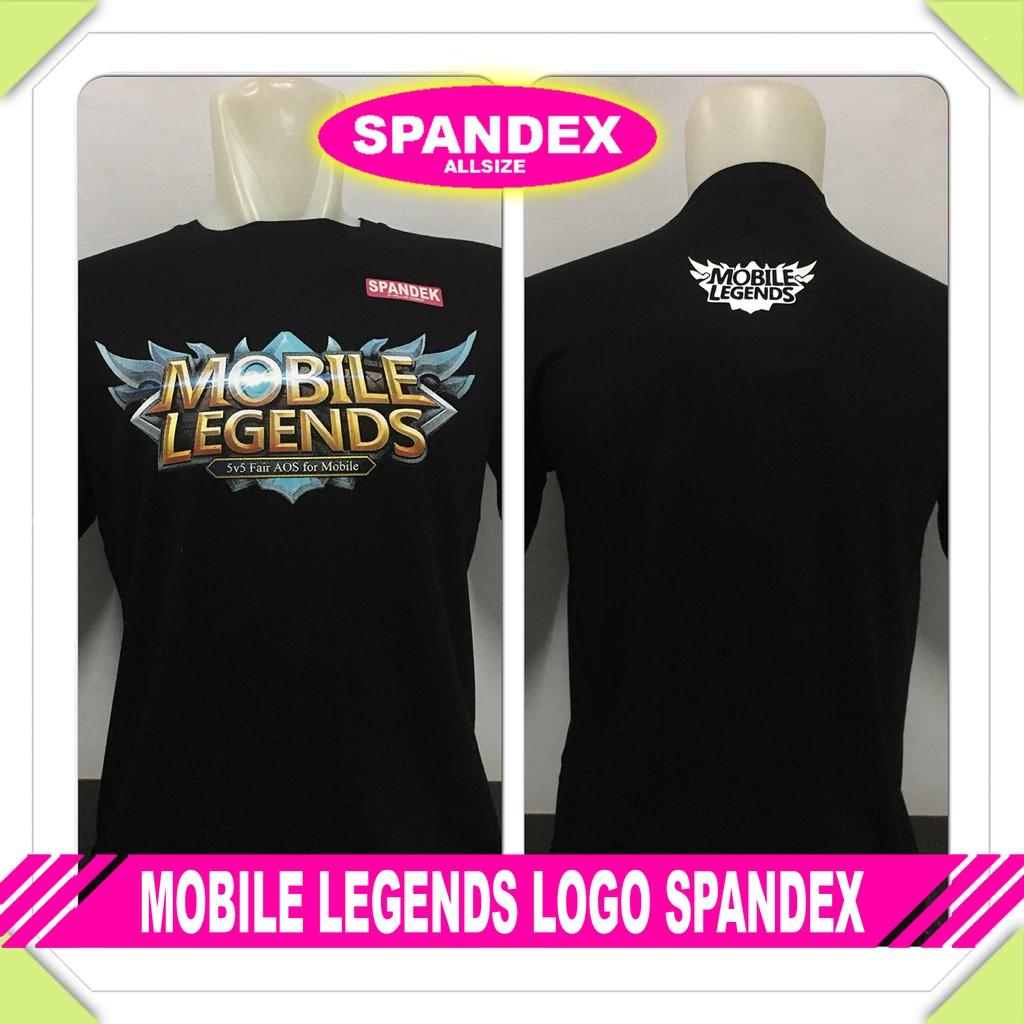 Kaos Remaja Distro Terbaru Mobile Legends Logo Spandex Baju Kemeja Pria Kombinasi Katun Putih Sht 791 Murah Shopee Indonesia