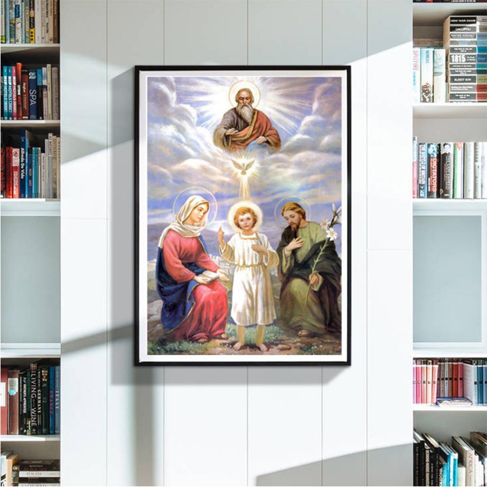 【 D 】 Lukisan Diamond 5D DIY Gambar Malaikat Untuk Dekorasi Rumah