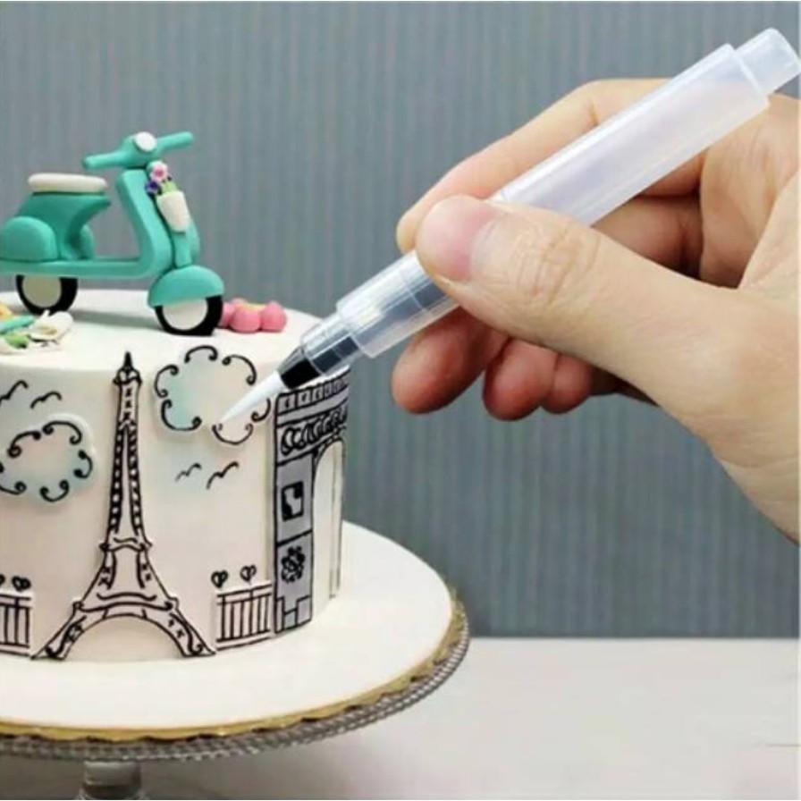 Pen Dekorasi Kue Kuas Spuit Mewarnai Makanan Dekorasi Cake Cupcake Wedding Cake Kue Ulang Tahun Shopee Indonesia