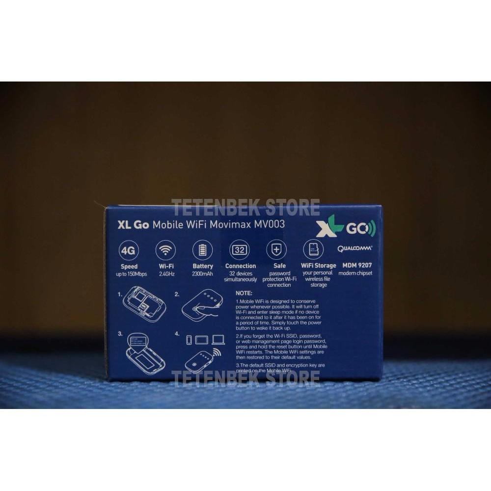 PROMO Modem Wifi Mifi 4G XL Go Movimax MV003 Free 60Gb 60Hari MANTAP   Shopee Indonesia