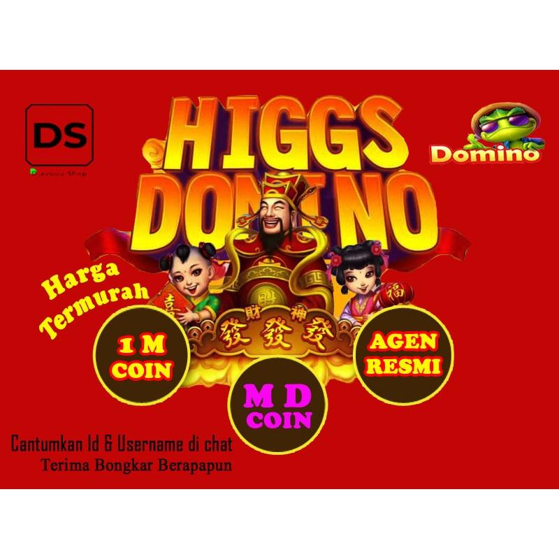 TERMURAH DIKELASNYA! Koin Chip MD Higgs Domino Ungu Eceran Sakti Agen Resmi 1M 1 M