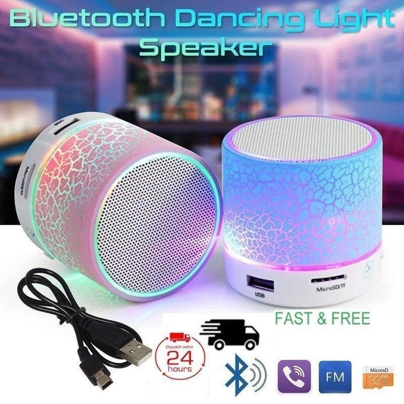 Speaker Stereo Mini Wireless Bluetooth V4.0 Anti Air untuk Shower | Shopee Indonesia