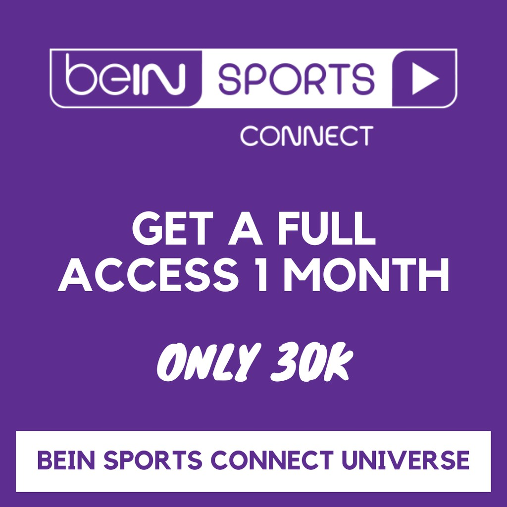 Promo Bein Sports Connect 1 Bulan Termurah Shopee Indonesia