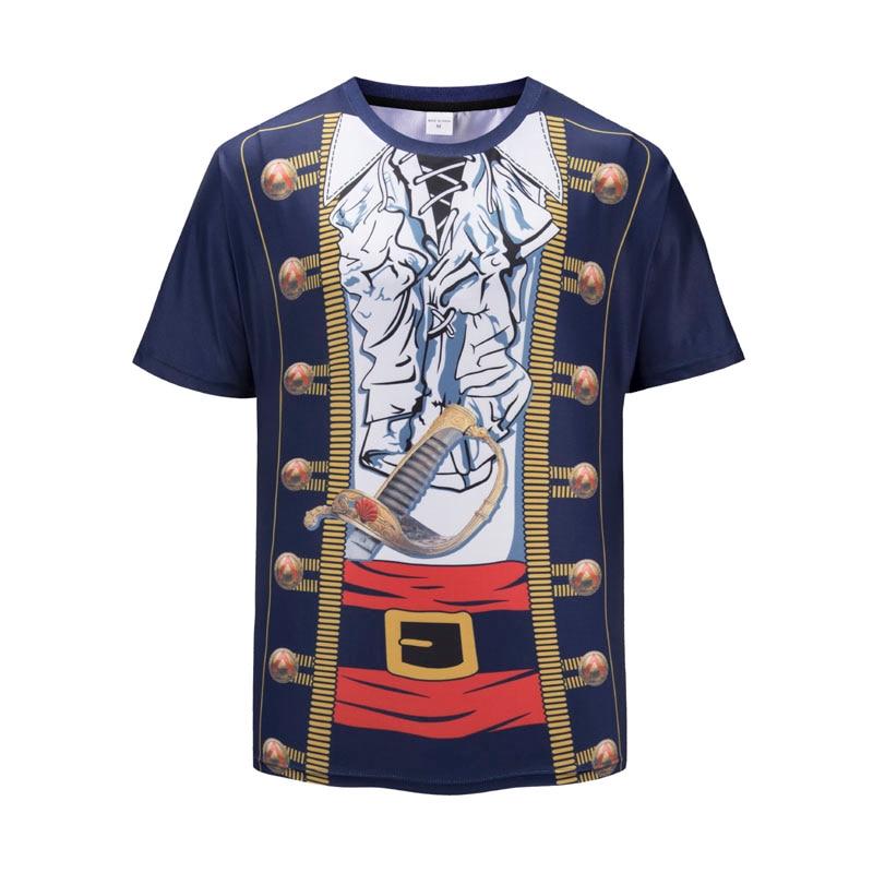 New Mens T-Shirt Short sleeve 3D Print Fashion Casual Slim Fit T Shirt AC25