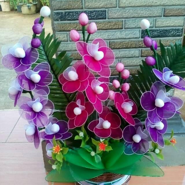 Bunga Hias Stoking Tanpa Pot Shopee Indonesia